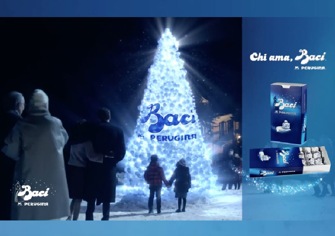 "Baci Perugina advertising: ""Who loves Baci?"""