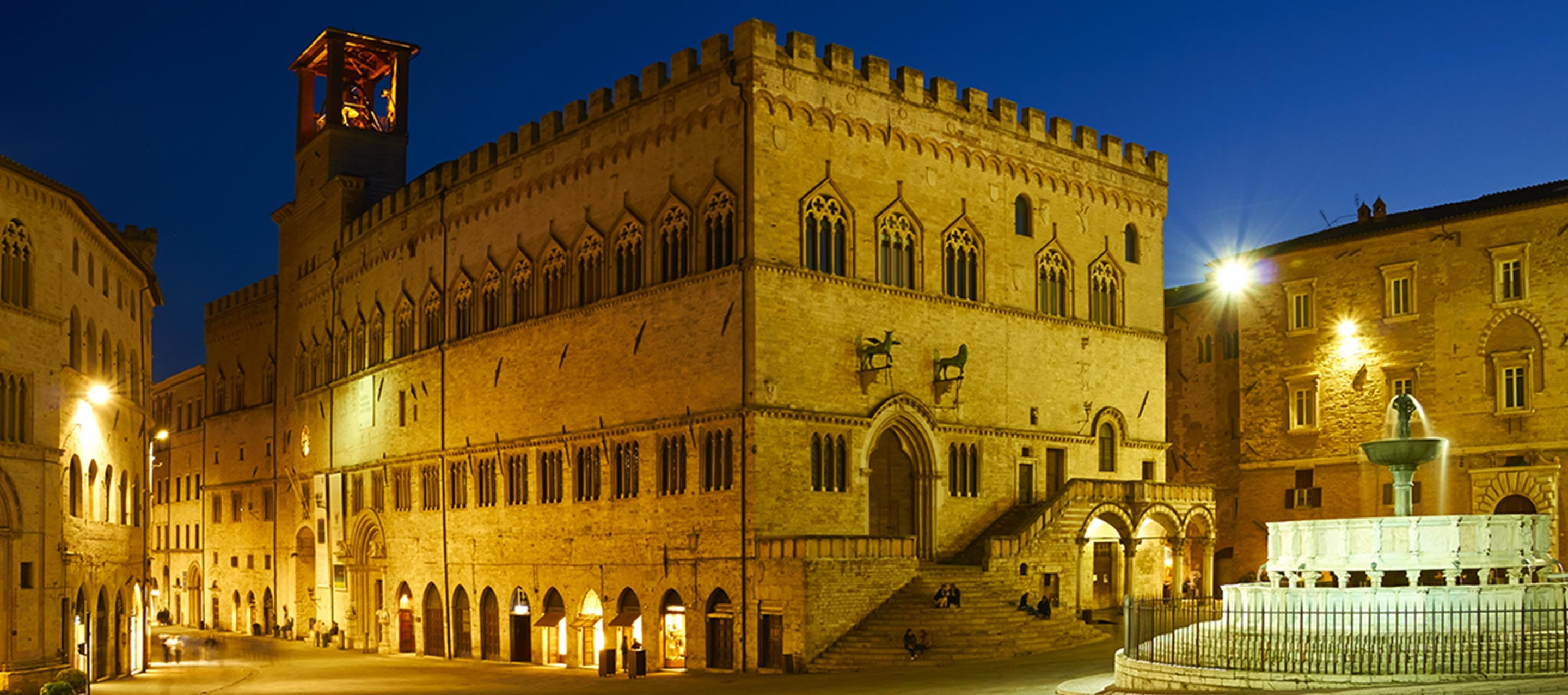 Perugia, recommended by Lonely Planet and Tripadvisor