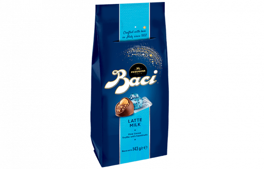Baci Perugina bag with milk chocolates