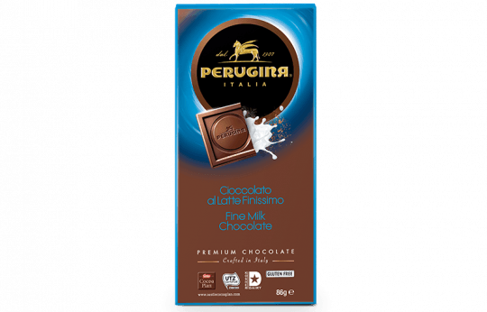 A tablet of milk chocolate by Baci Perugina