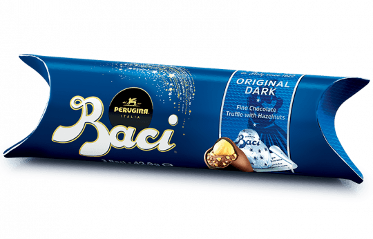 Baci Perugina Original Dark Tube with 3 pieces