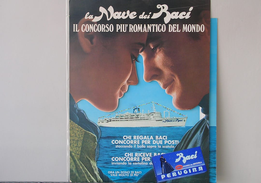 Baci Perugina 1969 romantic cruise contest