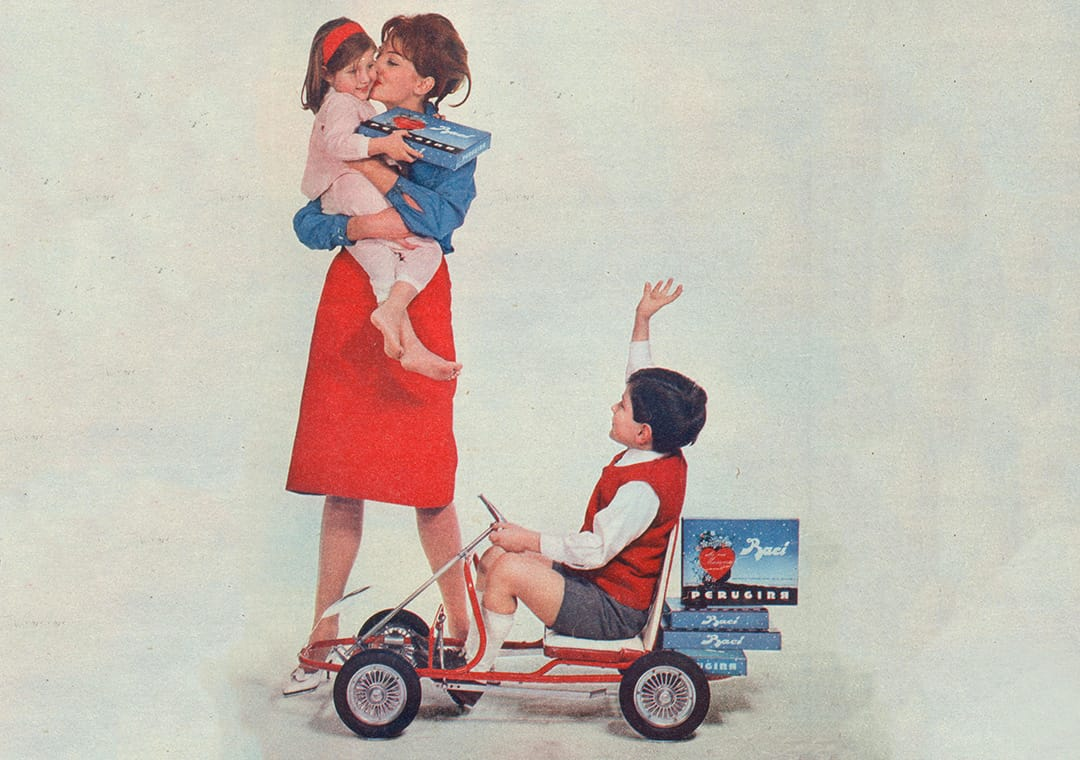 Baci Perugina 1959 Mother's Day advertising