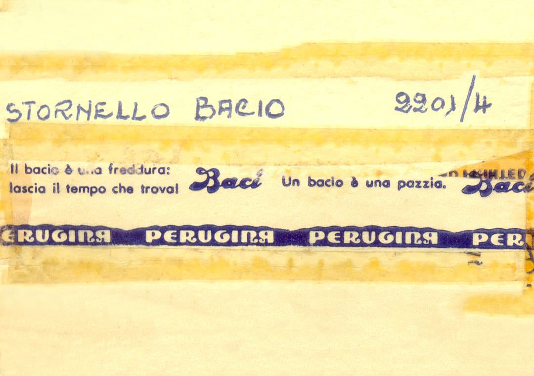 Baci Perugina first love notes contest