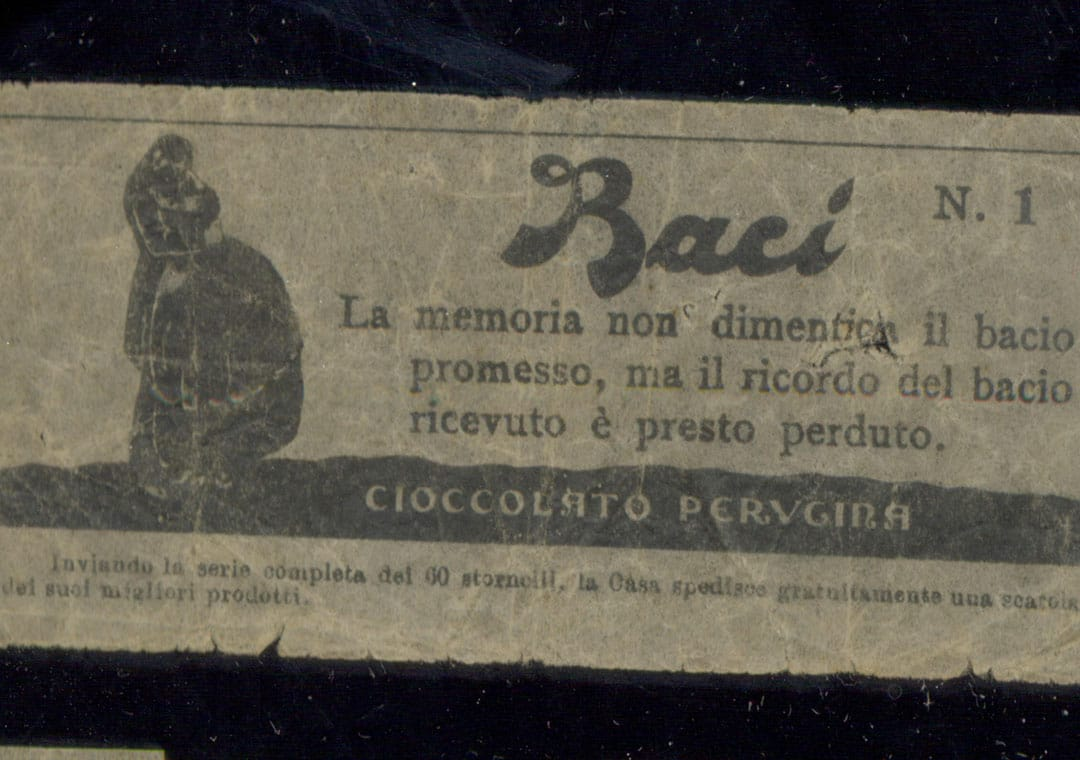 Baci Perugina old love note