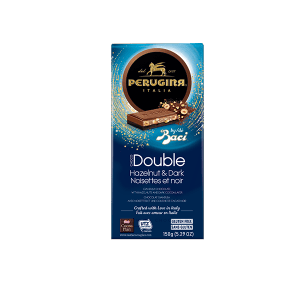 Tablet double dark hazelnuts baci perugina