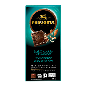 Perugina Dark Chocolate with Almonds
