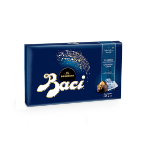 Candy box of Baci Perugina original dark