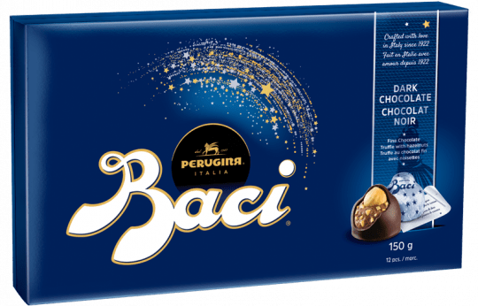 Baci candy box Perugina Original Dark