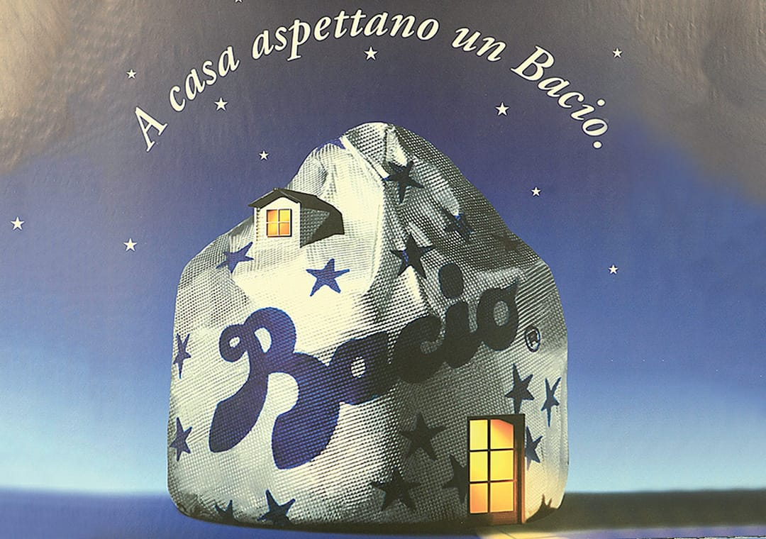 Advertising: At home waiting for Baci