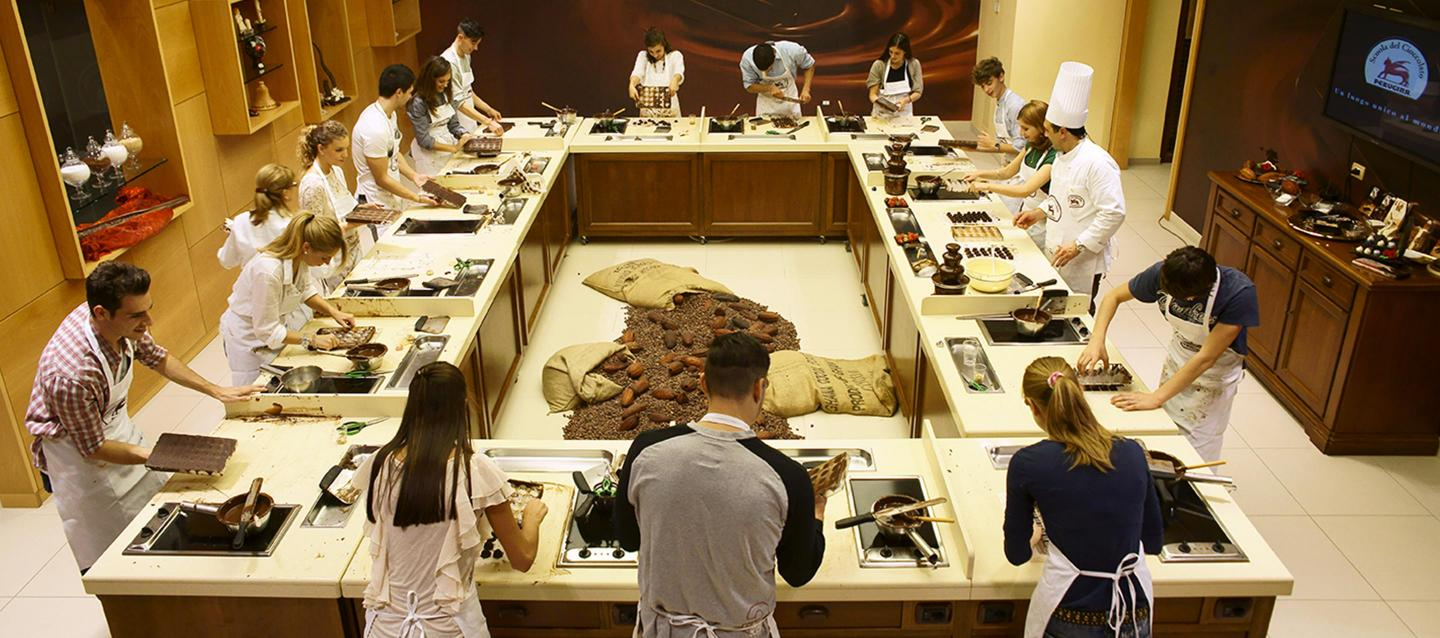 The Perugina School of Chocolate in Perugia, Italy