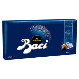 Medium candy box of Baci Perugina original dark