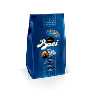 Maxi bag of Baci Perugina original dark