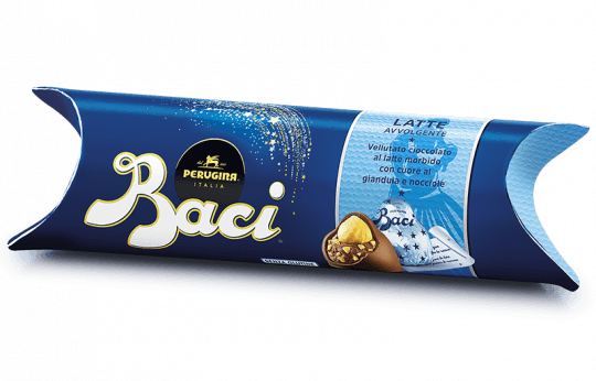 Baci Perugina Milk Tube with 3 pieces