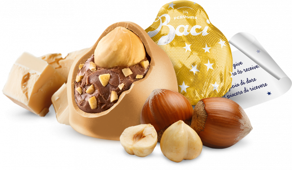 Baci Perugina Gold Limited Edition with caramel flavoured gold chocolates