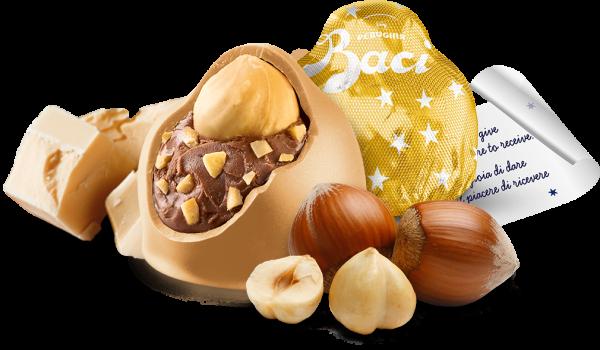 Baci Perugina Gold Limited Edition con cioccolatini oro al caramello