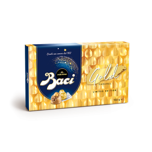 Baci® Perugina® Gold Limited Edition Box with gold caramel chocolates